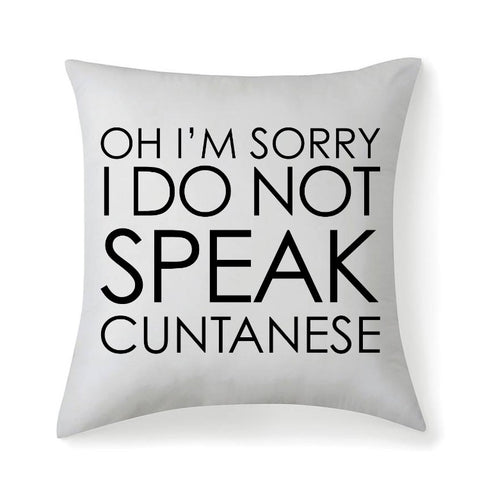 Image of Cuntanese Microfiber Cushion