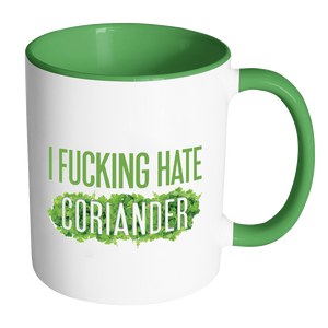 I Fucking Hate Coriander Mug-Drinkware-Far Kew Emporium