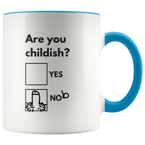 Image of Are You Childish Mug-Drinkware-Far Kew Emporium