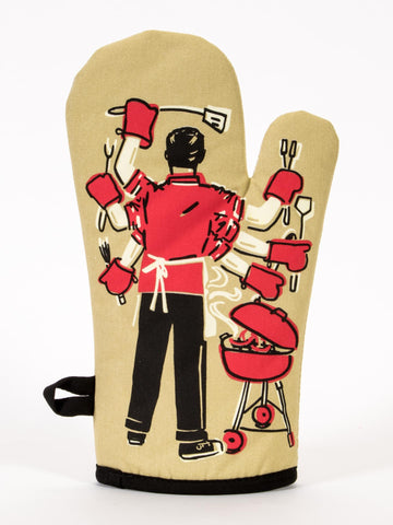 Image of I'll Feed All You Fuckers Oven Mitt