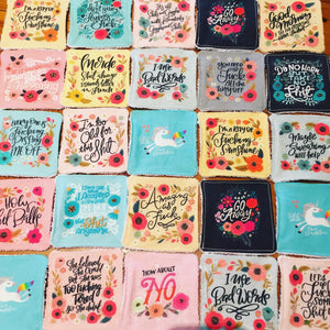 Pretty Profanities Washable Make-up Wipes