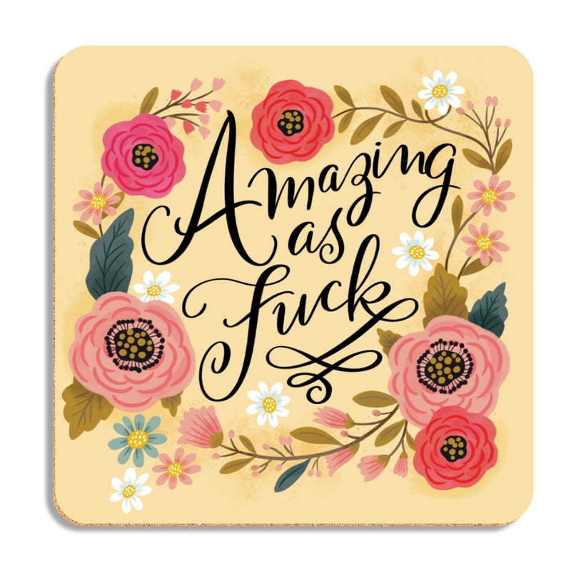 Pretty Sweary Table Coasters