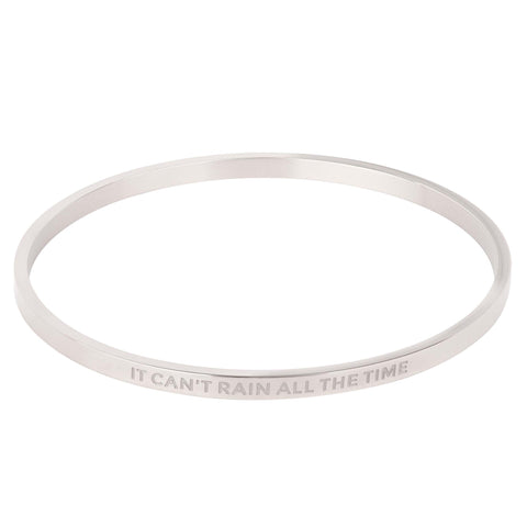It Can't Rain All The Time Bangle