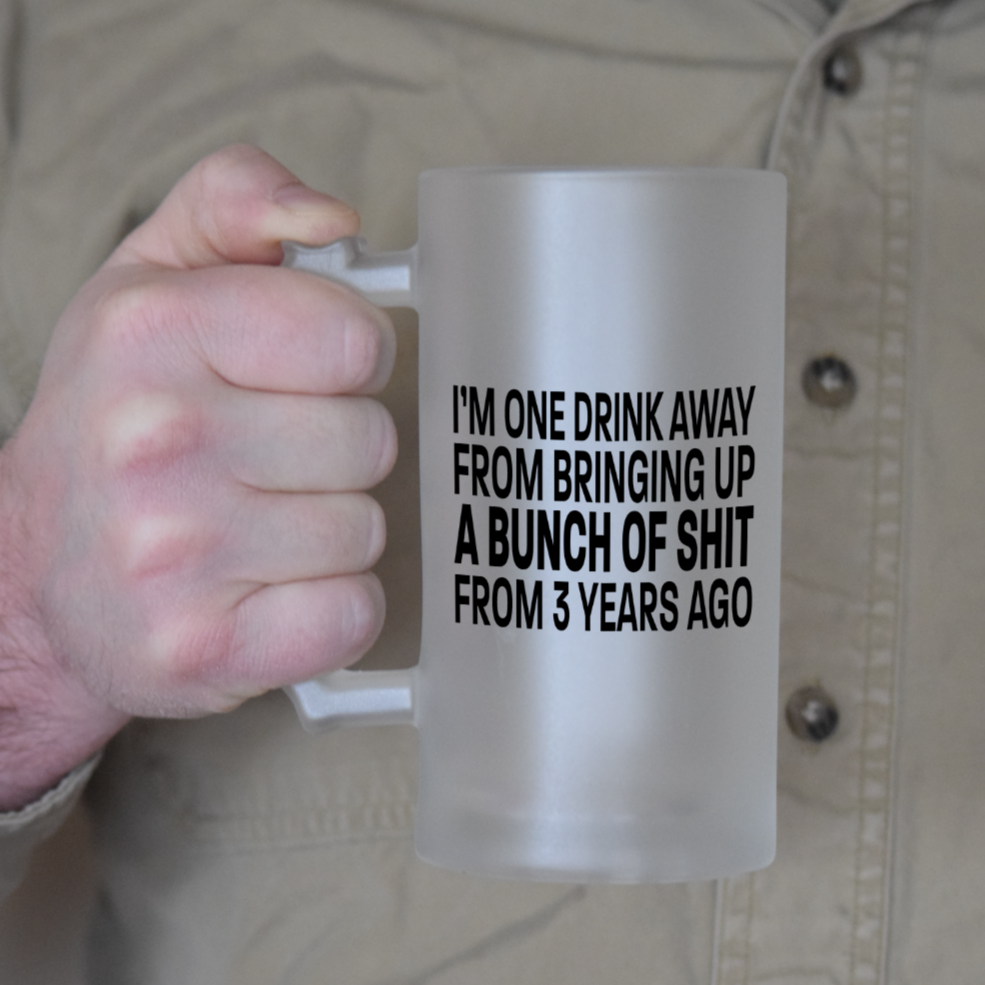 Bringing Up Shit From 3 Years Ago Frosted Beer Stein