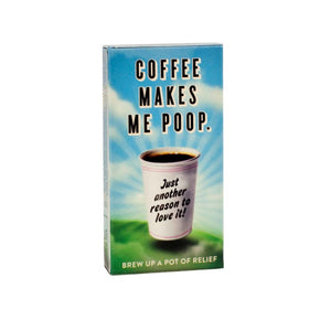 Coffee Makes Me Poop Gum
