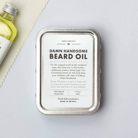 Damn Handsome Beard Oil