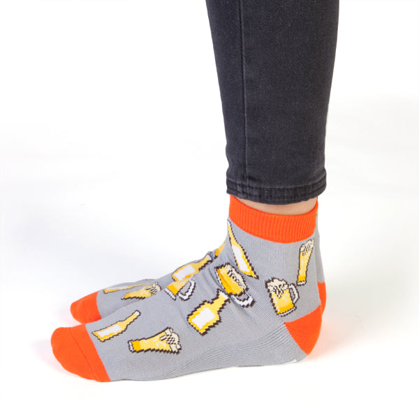 "Bring Beer ""Talking"" Socks"