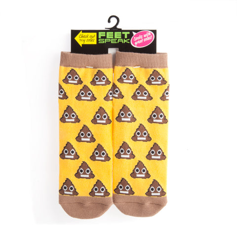 "Image of Shit Happens ""Talking"" Socks"