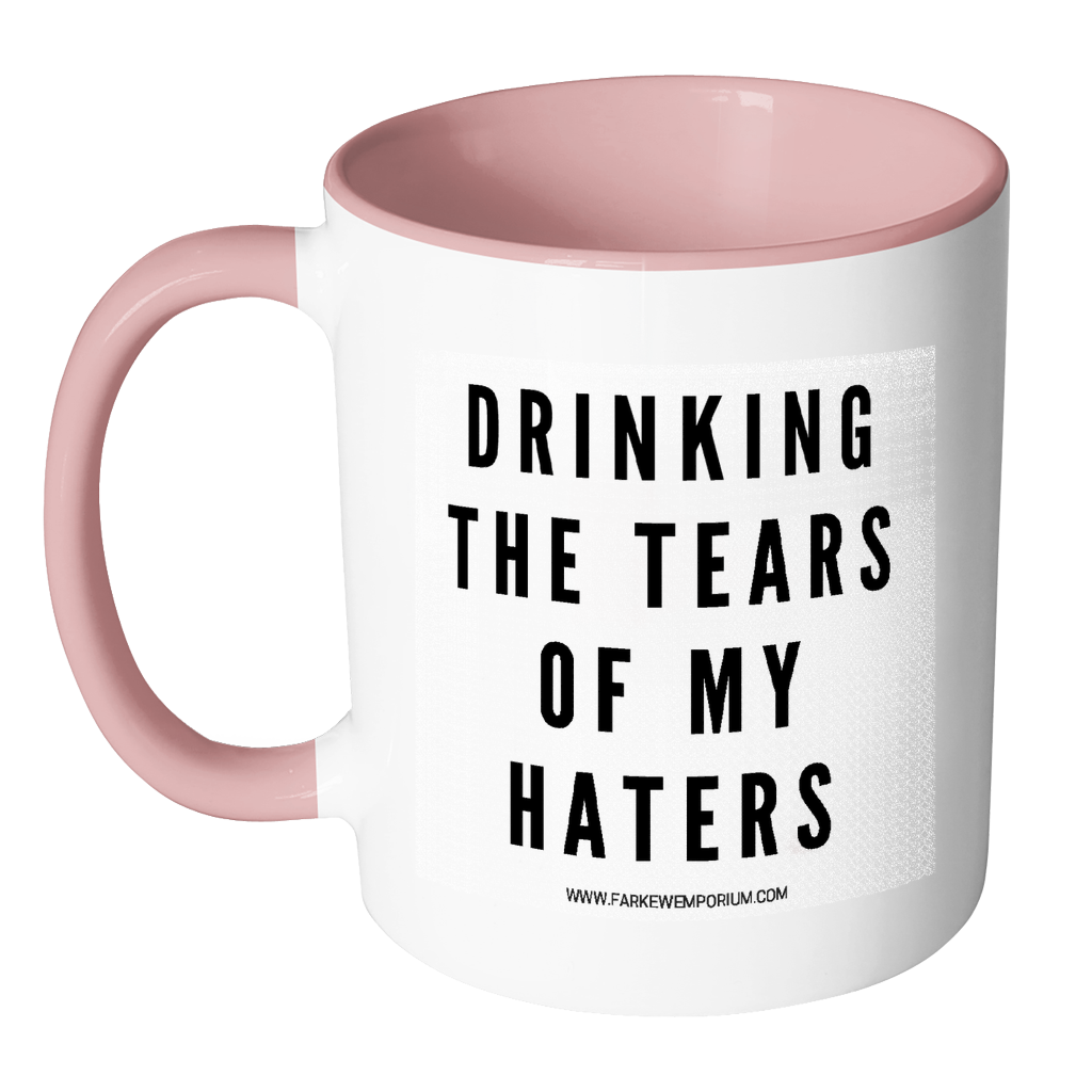 Drinking The Tears of My Haters-Drinkware-Far Kew Emporium