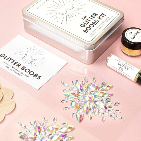 Image of Glitter Boobs Kit