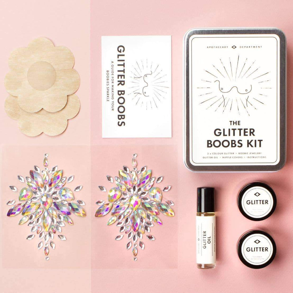 Glitter Boobs Kit