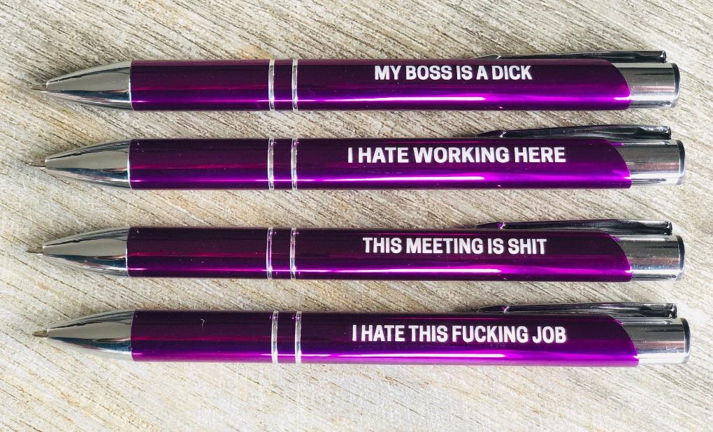 The Ultimate Fuck My Life Purple Pen Pack