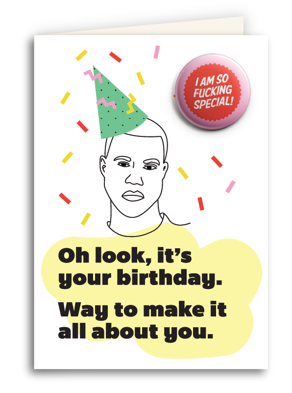 I'm So Special Card