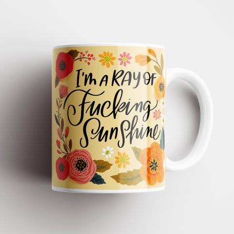 I'm a Ray of Fucking Sunshine Mug