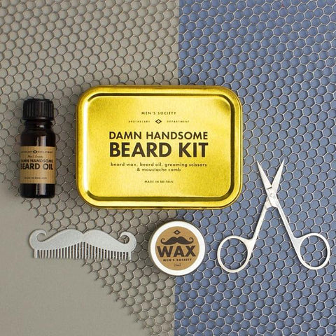 Image of Damn Handsome Beard Kit
