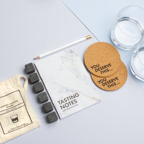 Whiskey Lovers Kit (accessory and tasting kit)