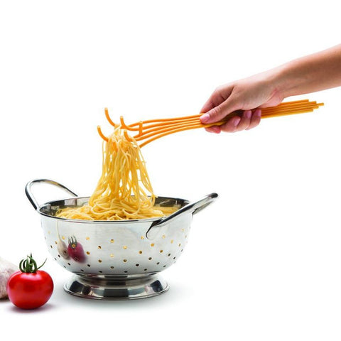 Image of Spaghetti Shaped Pasta Spoon