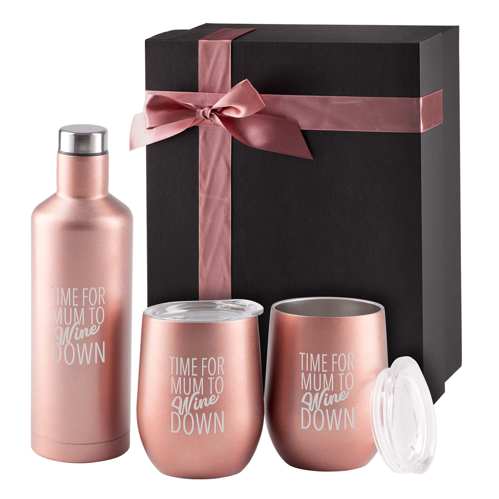 Time For Mum To Wine Down Gift Set