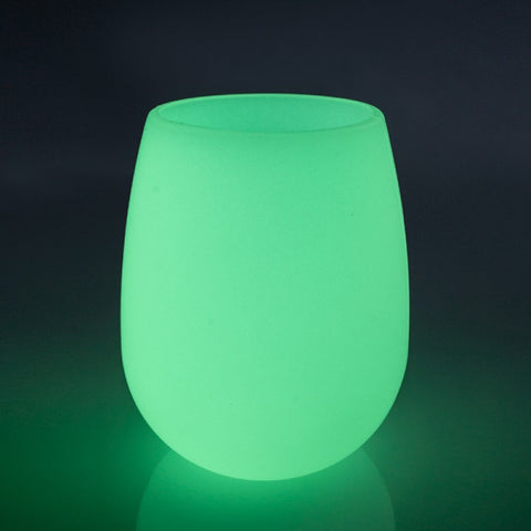 Silicone Glow In The Dark Wine Cup