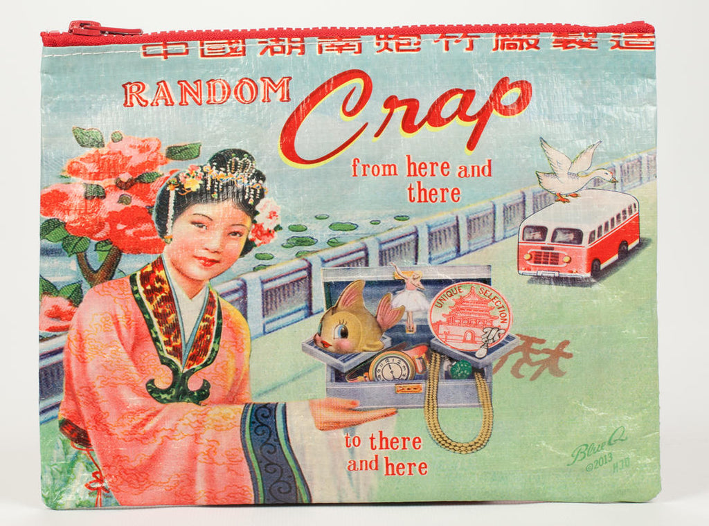 Random Crap Zipper Pouch