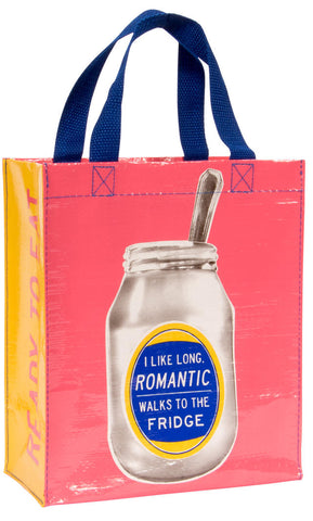 Image of I Like Long Romantic Walks To The Fridge Tote Bag