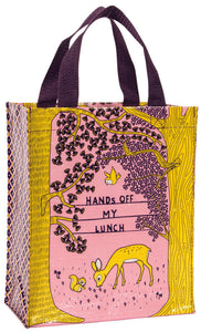 Hands Off My Lunch Handy Tote Bag