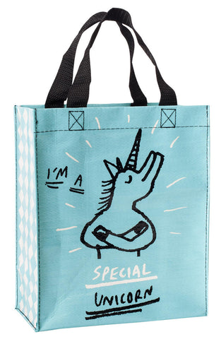 Image of I'm a Special Unicorn Handy Tote Bag
