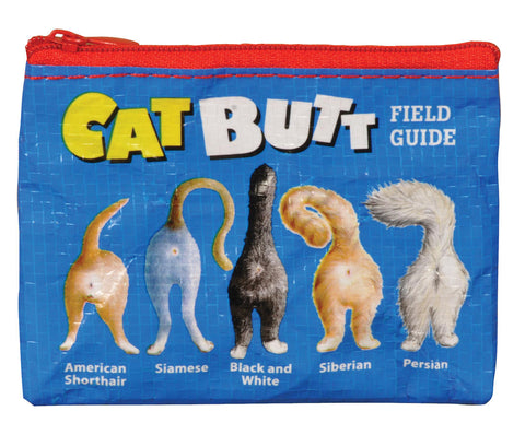Image of Cat Butt Field Guide Coin Purse