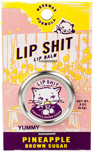 Lip Shit Lip Balm - Pineapple & Brown Sugar