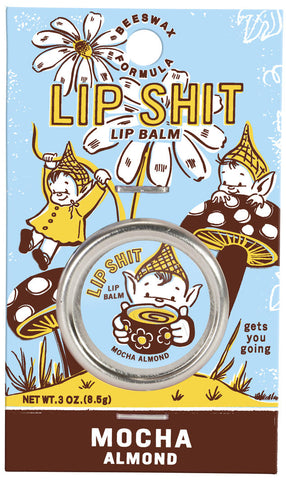 Lip Shit Lip Balm - Mocha Almond