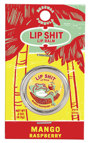 Lip Shit Lip Balm - Mango Raspberry