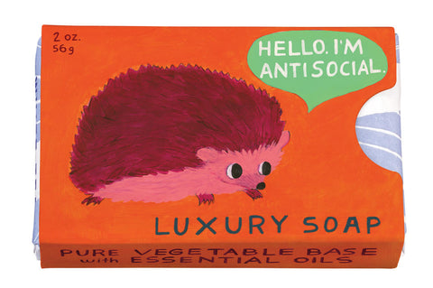 Hello, I'm Antisocial Soap