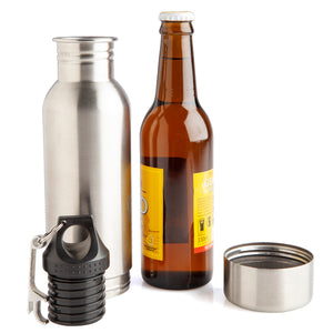 Stubby Cooler Travel Flask - HIDE YOUR BEER!