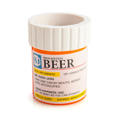 Prescription Beer Stubby Cooler