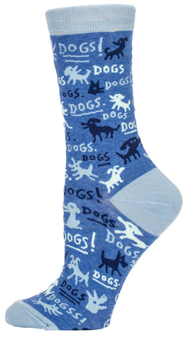 Image of Dogs! Crew Socks