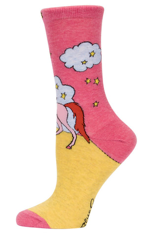 Image of Always Be a Unicorn Crew Socks