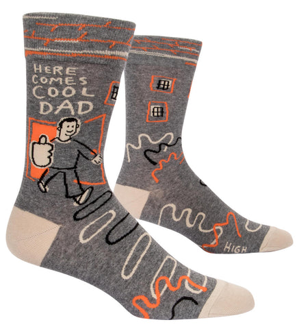 Here Comes Cool Dad Men's Socks