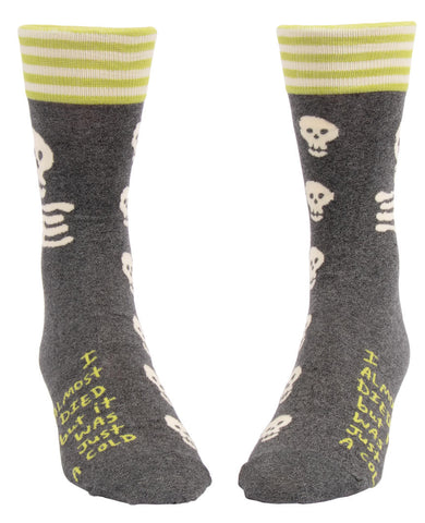 Image of I Almost Died, But It Was Just A Cold Men's Socks