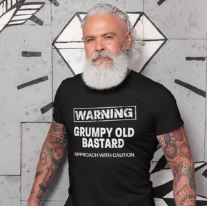 """Slightly Fucked"" Grumpy Bastard T-shirt"