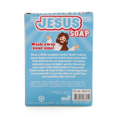 Image of Jesus Soap