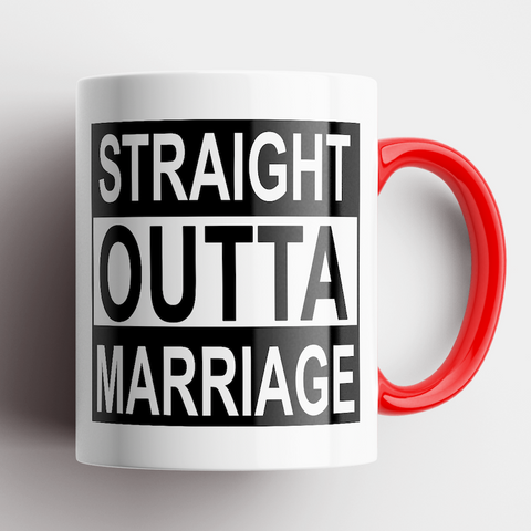 Image of Straight Outta Marriage Mug