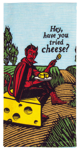 Image of Have You Tried Cheese Tea Towel / Dish Towel