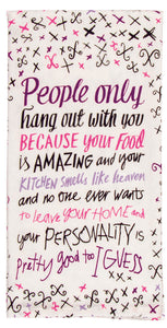 Your Food Is Amazing tea Towel / Dish Towel