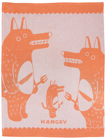 Image of Hangry Dish Towel / Tea Towel