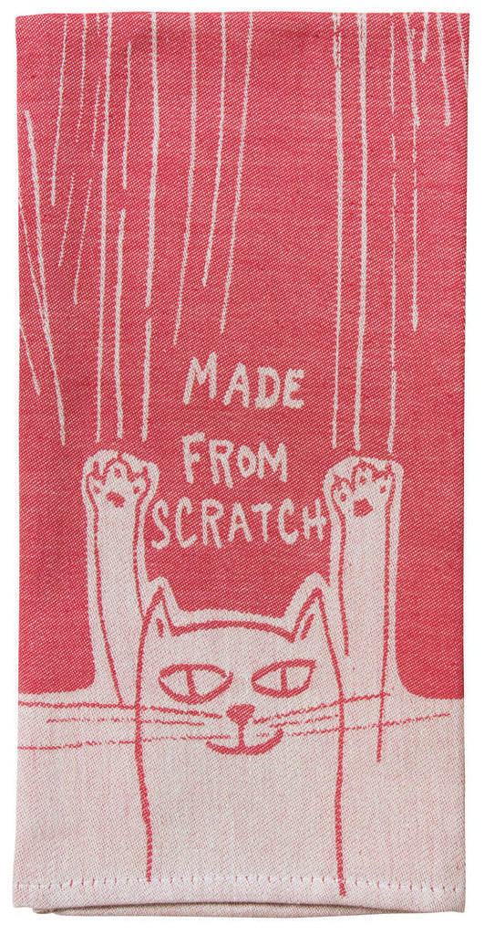 Made From Scratch Tea Towel / Dish  Towel