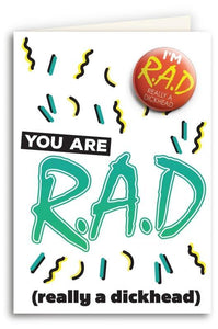 You Are Rad Card
