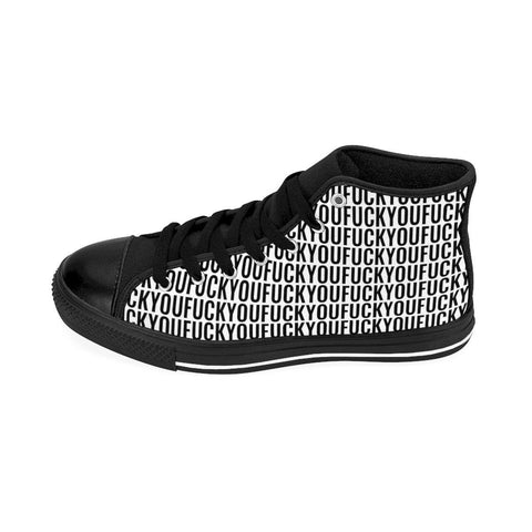 Image of Fuck You Men's High-top Sneakers FREE SHIPPING