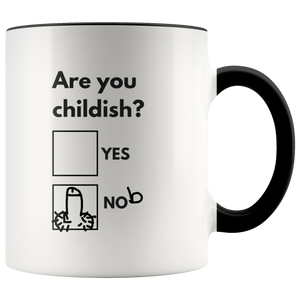 Are You Childish Mug-Drinkware-Far Kew Emporium