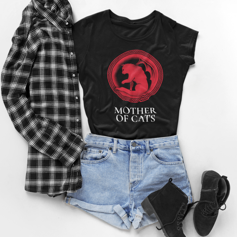 Image of Mother of Cats Women's T-Shirt