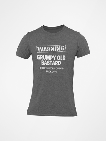 Image of Grumpy Old Bastard COVID-19 Men's/Unisex T-Shirt